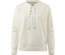 Sweatshirt perlweiß