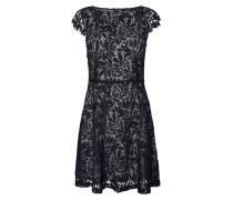 Kleid 'Lace' nachtblau / grau