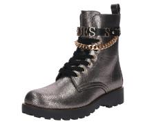 Leder-Boots 'nina' silber