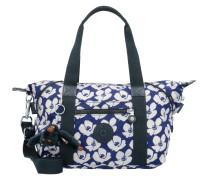 Handtasche Basic Ewo 27 cm blau / weiß