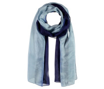 Degradé Schal blau / hellblau