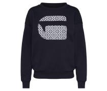 Sweater 'oluva' dunkelblau