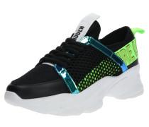 Sneaker 'apex' neongrün / schwarz