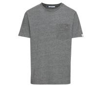 T-Shirt 'Sverre printed t' grau