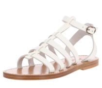 Sandale 'Julianne' braun / weiß