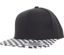 Snapback 'Checkerboard' schwarz / weiß