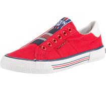 Sneaker mischfarben / rot