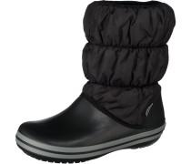 Winter Puff Stiefel schwarz