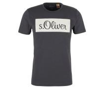 Shirt hellgrau / schwarz
