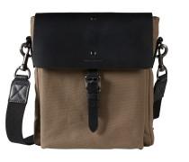 Messenger Bag khaki / schwarz