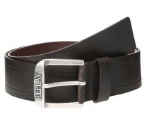 Gürtel 'Leather Belt' dunkelbraun