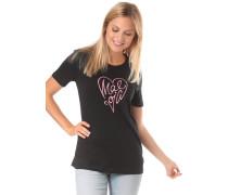 T-Shirt 'GiosefinaM. T' schwarz