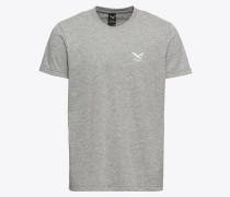 T-Shirt 'Chestflag Tee' graumeliert