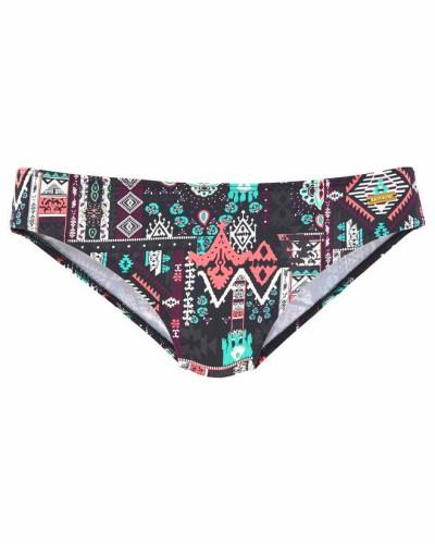 Bikini-Hose 'Kati' mischfarben / schwarz