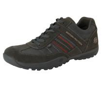 Sneaker Low anthrazit / rot