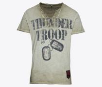 T-Shirt 'MT Thunder Troop' khaki