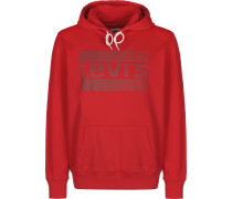 Hoodie ' Classic Batwing ' rot