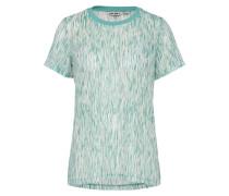 Shirt jade / weiß