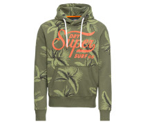 Sweatshirt 'super Surf CO AOP Over Hood'