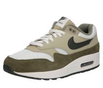 Sneaker 'Air Max 1' khaki / weiß