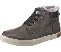 Sneakers dunkelbraun / schwarz / weiß