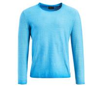 Longsleeve 'pelton' neonblau