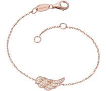 Armband mit Zirkonia 'Flügel Lil' Erb-Lilwing-Zi-R'