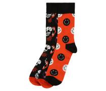 Socken 'Halloween' mischfarben