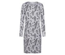 Kleid hellgrau / dunkelgrau / graumeliert