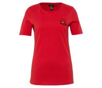T-Shirt 'Naomi Campbell' rot
