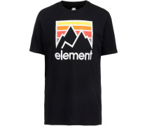 T-Shirt ' Link' schwarz
