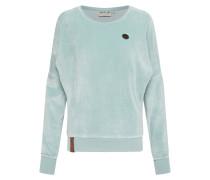 Sweatshirt 'Auf dem Küchentisch' hellblau