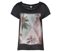 T-Shirt 'palm Sky' schwarz