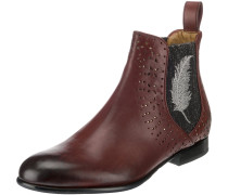 Chelsea Boots 'Sally 83' blutrot