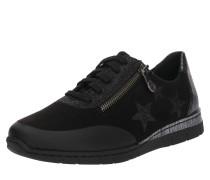 Sneaker schwarz / silber
