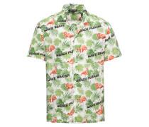 Hemd 'bowling Shirt' grün