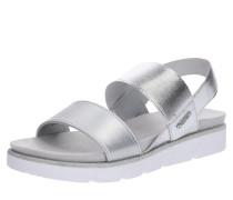 Sandale 'Kiko' silber