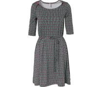 Kleid grün / rot