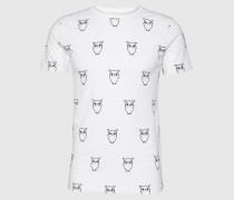 T-Shirt 'All Over Big Owl'