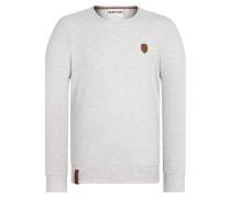 Sweatshirt 'Al K.Ohol' hellgrau
