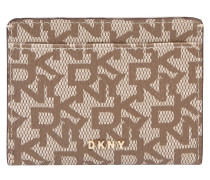Etui 'bryant-Card Holder' beige / braun