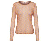 Shirts 'nmginny L/S Top' gelb / rosa