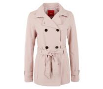 Jacke im Trenchcoat-Style puder