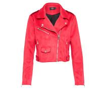 Jacke im Biker-Style 'sherry' pink