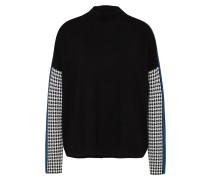 Pullover 'p142' blau / schwarz / weiß