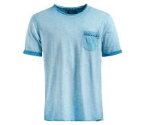 T-Shirt 'Tordy' blau / hellblau