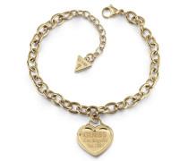 Armband 'Follow my charm Ubb28018' gold