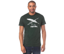 T-Shirt 'Harpoon Flag ' grün