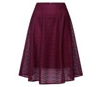 Rock 'reeza Skirt' burgunder