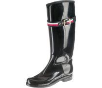 Boots navy / rot / schwarz / weiß